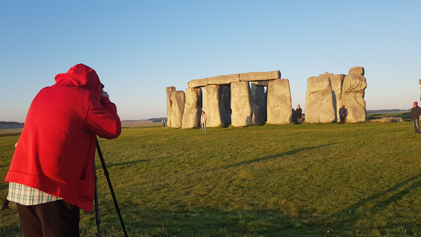 Stonehenge close up and personal