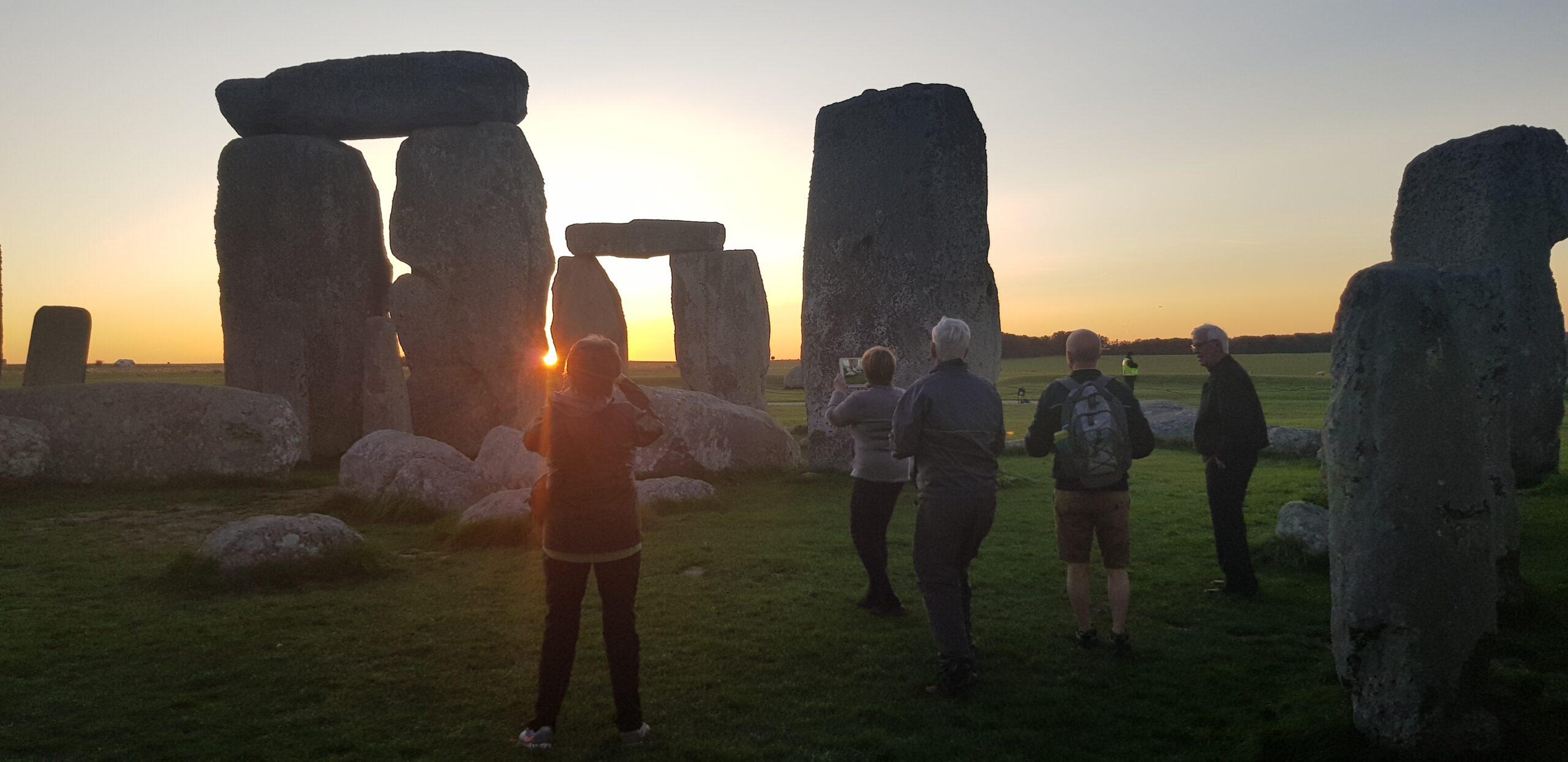 Stonehenge sunset tour